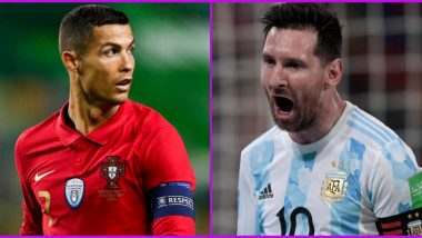 Fans Start Lionel Messi vs Cristiano Ronaldo 'War' on Twitter After Argentina's 1-1 Draw Against Chile