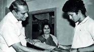 Father's Day 2021: Sachin Tendulkar Gets Nostalgic, Says 'Miss You Baba' (Watch Video)