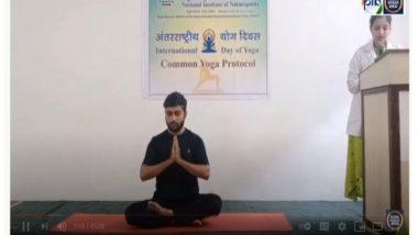 Yoga Day 2021: Centre Holds Marathon 100-Day Online Streaming Yoga Workshop Series