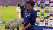 Shafali Verma Wins Player of the Match Award After England Women vs India Women Ends in a Draw