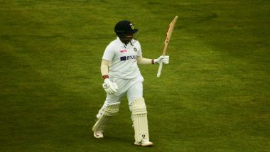 India Women vs England Women, One-Off Test Match 2021 Day 3 Live Cricket Streaming: Watch Free Telecast of IND-W vs ENG-W on Sony Ten1 & SonyLiv Online