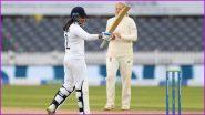 England Women vs India Women Test Match Ends in a Draw, Sneh Rana Scores Unbeaten 80