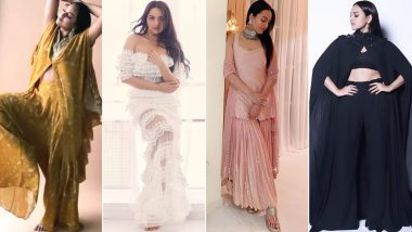 Sonakshi Sinha Birthday: A Peek Into Her Fabulous Wardrobe, One Outfit at a Time (View Pics)