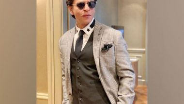 Entertainment News | Shah Rukh Khan Sports Rugged Look, Says Time to Get Back to Work