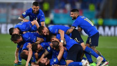 Euro 2020 Day 21 Schedule: Today's Matches With Kick-Off Time in IST, Upcoming Fixtures and Live Streaming Details Of Quarter-Final Fixtures