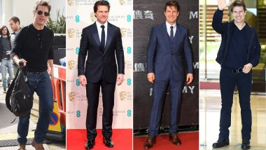 Tom Cruise Birthday: The 'Mission' To Excel in the Fashion Department is Never 'Impossible' For Him (View Pics)