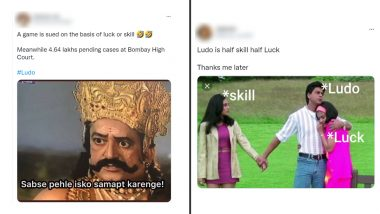 Ludo Funny Memes And Jokes Go Viral As Bombay High Court Decides Whether It's A Game Of Skill Or Chance