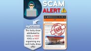 Scam Alert! IOCL Giving Mobile Phones, TVs, Free Gifts as Part of Lucky Draw Offer on Its 40th Anniversary? PIB Fact Check Reveals Truth Behind Fake Message
