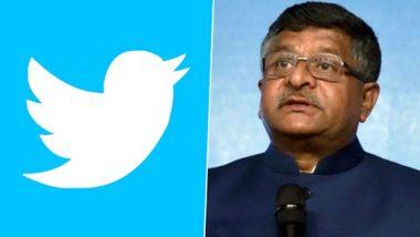 Twitter Account of Ravi Shankar Prasad Locked Due to DMCA Complaint by Sony for Using AR Rahman's Popular Song 'Maa Tujhe Salaam': Reports