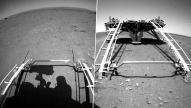 China Shares Zhurong Rover Returns Landing Footage and Sounds From Mars