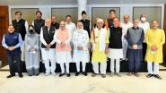 PM Narendra Modi Chairs All-Party Meeting With J&K Leaders Including Farooq Abdullah, Omar Abdullah, Mehbooba Mufti, Ghulam Nabi Azad Among Others (See Pics)