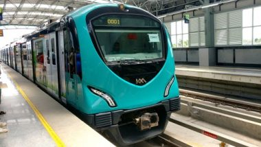 Kochi Metro Rail Limited Set To Resume Metro Train Services From July 1 After 53 Days of Lockdown