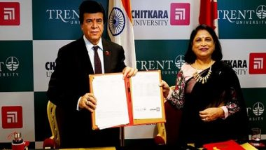 Business News   Chitkara University Announces Academic Mentorship in BBA with Trent University, Canada