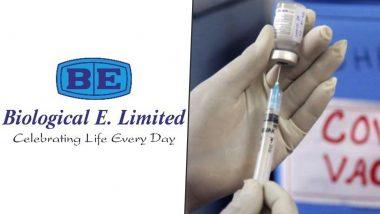 COVID-19 Vaccine Update: India Finalises Advance Arrangement With Biological-E for 30 Crore Coronavirus Vaccine Doses