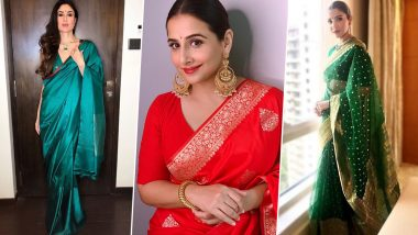 Vat Savitri 2021 Traditional Outfit Ideas: Kareena Kapoor Khan, Vidya Balan, Anushka Sharma - Celebrity-Inspired Ways To Deck Up for Savitri Brata Puja