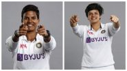 Shafali Verma, Taniya Bhatia, Deepti Sharma & a Couple of Other Players Make Test Debuts Against England Women in One-Off Test Match 2021 (See Pics)