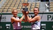 Barbora Krejcikova/Katerina Siniakova Beat Bethanie Mattek-Sands/ Iga Swiatek In French Open 2021 Women's Doubles Finals