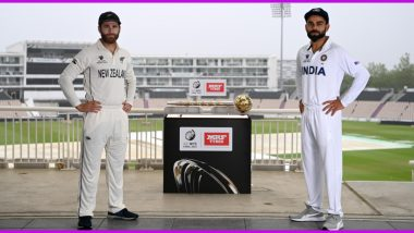 India vs New Zealand WTC Final Toss Update: NZ Opt to Bowl, Include 4 Pacers in Playing XI