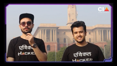 Meet Vaibhav Jha & Arjun Chaudhary, Co-Founders of World's Premium Cyber Security Conference the CIA Conference (CIACON)
