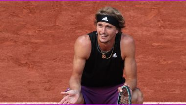 French Open 2021: Alexander Zverev Qualifies for Semi-Final at Roland Garros for the First Time in his Career, Beats Davidovich Fokina