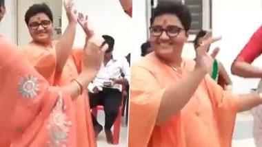 Pragya Thakur Seen Dancing Days After Video of Her Playing Basket Ball Emerged; MP Congress Leader Shares Video