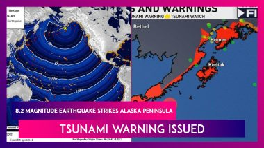 Alaska Hit By 8.2 Magnitude Earthquake, United States Geological Survey Issues Tsunami Warning For North-Pacific Region