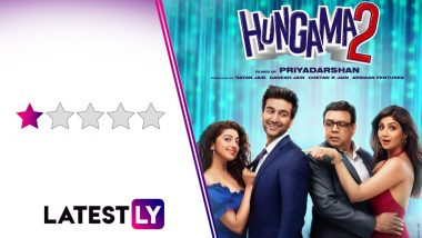 Hungama 2 Movie Review: Dear Mohanlal Fans, Stay Away From This Outdated Minnaram Remake, Starring Shilpa Shetty Kundra and Meezaan Jafri (LatestLY Exclusive)