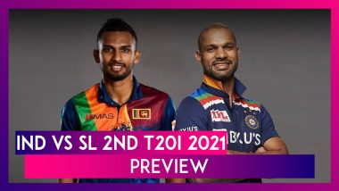 IND vs SL 2nd T20I 2021 Preview & Playing XIs: India Look To Clinch Series