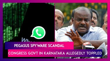 Pegasus Spyware Scandal: Congress Govt In Karnataka Allegedly Toppled; France's Macron Also Targeted