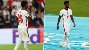Arsenal Star Bukayo Saka Issues Strong Statement After England Players Receive Racist Abuse Following Euro 2020 Final Loss (See Post)