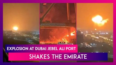 Dubai: Explosion On Cargo Ship Docked At Jebel Ali Port Shakes The Emirate