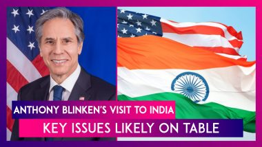 Anthony Blinken, US Secretary Of State's Visit To India: Key Issues Likely On Table