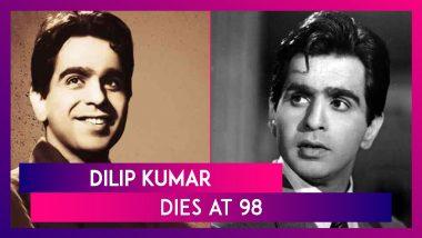 Dilip Kumar, Legendary Actor, Dies At 98 In Mumbai After Prolonged Illness, PM Modi, Amitabh Bachchan, Akshay Kumar, & Others Pay Tribute