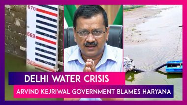 Delhi Water Crisis: Arvind Kejriwal Government Blames Haryana For Restricting Supply As Capital Reels Under Water Shortage