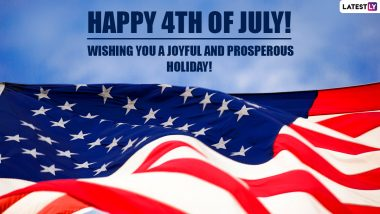 Happy Fourth of July 2021 Greetings for Family & Friends: WhatsApp Messages, 4th of July HD Images, Wishes, Facebook Quotes and Telegram GIFs to Celebrate US Independence Day