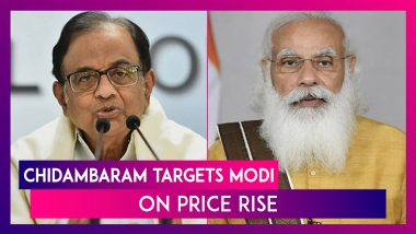 P Chidambaram Targets PM Narendra Modi On Price Rise, Says, 'Inflation Will Not Go Away If You Pretend It Does Not Exist'