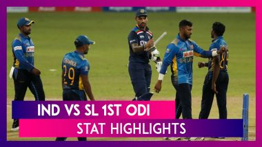 IND vs SL 1st ODI Stat Highlights: Ishan Kishan Shines in India's Win