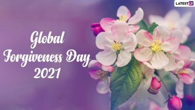Global Forgiveness Day 2021 Quotes: WhatsApp Messages, Thoughtful Sayings, HD Images and Wallpapers to Celebrate This Important Day