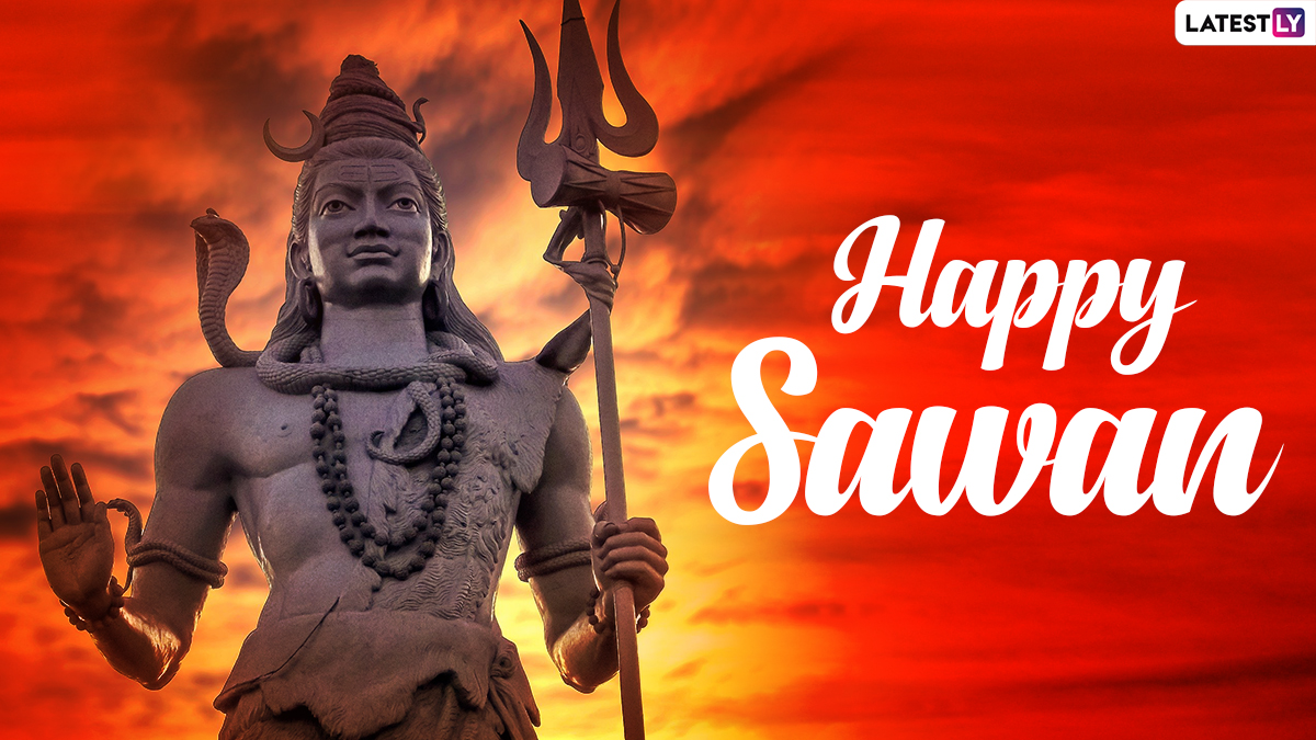 Sawan Somvar 2021 Images and HD Wallpapers Free Online Download: Wish Happy Shravan on Holy Monday with WhatsApp Messages, Quotes and GIF Greetings