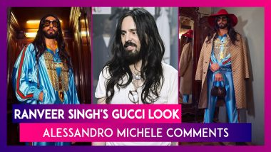 Ranveer Singh's Gucci Look Is Breaking The Internet, Alessandro Michele Comments Too