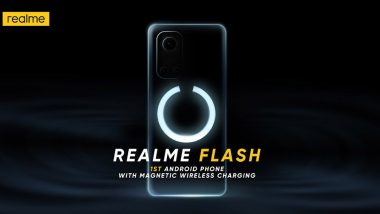 Realme Flash With MagDart Wireless Magnetic Charger To Be Launched Soon