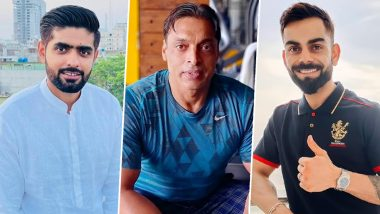 Shoaib Akhtar Opens Up on Virat Kohli and Babar Azam Comparison, Says 'The Debate Is Wrong'