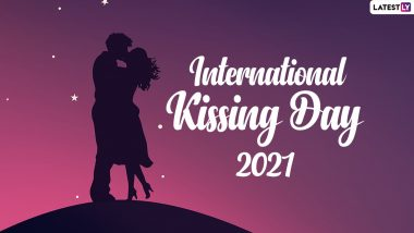 International Kissing Day 2021 Quotes: Best Wishes, Greetings, HD Images, Wallpapers, WhatsApp Messages and SMS to Celebrate the Beautiful Gesture of Love