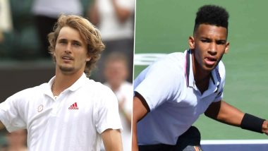 Alexander Zverev vs Felix Auger-Aliassime, Wimbledon 2021 Live Streaming Online: How to Watch Free Live Telecast of Men's Singles Tennis Match in India?