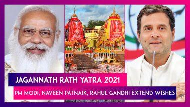 Jagannath Rath Yatra 2021: PM Modi, President Kovind, Odisha CM Naveen Patnaik Wish Fellow Devotees