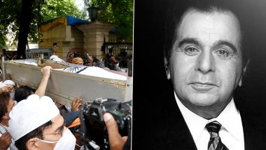 Dilip Kumar Funeral: The Late Actor Cremated With State Honours (View Pics And Videos)