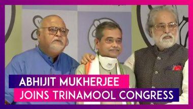 Abhijit Mukherjee, Pranab Mukherjee's Son & Ex-Congress MP Joins Trinamool Congress