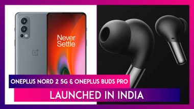 OnePlus Nord 2 5G & OnePlus Buds Pro Launched in India