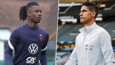 Manchester United Transfer News: Red Devils Lead Race To Sign Eduardo Camavinga, Raphael Varane