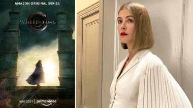 The Wheel of Time: Rosamund Pike's Fantasy Show on Amazon to Debut in November